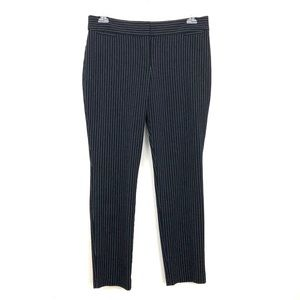 The Limited Black Pinstriped Stretch Skinny Pants